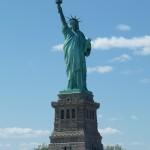 Die bekannte New York Freiheitsstatur