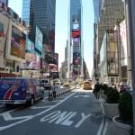 Straßenverkehr von New York