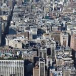 Blick auf die Hochhäuser von New York