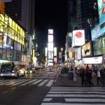 Das Nachtleben von New York.