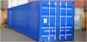 Der Containerservice bietet sowohl Containervermeitung als auch -Verkauf an.
